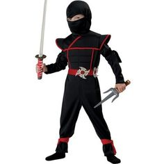 Stealth Ninja Toddler Costume - Keep a close eye on your little ninja this Halloween because they're known for being mysteriously difficult to find! Stealth Ninja Toddler Costume inc Ninja Halloween Costume, Theme Halloween, Halloween Kids, Trendy Halloween, Halloween Carnival, Carnival Birthday, Halloween Parties, Halloween 2015, Halloween Games