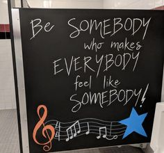 Inspiration Stalls - Boys School Bathroom Stall Art Makeover and Positive Messages Be Somebody, Decision to Try, You Rock, Rockstar, Guitar, Music #Hallwayideas Pta School, School Events, School Boy, Bathroom Mural, Bathroom Stall, Bathroom Doors, School Decorations, School Themes, School Ideas