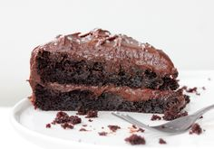This Extreme Chocolate Layer Cake doesn't mess around. Dense, rich, moist and bursting with chocolate flavor. A chocolate lovers dream cake.