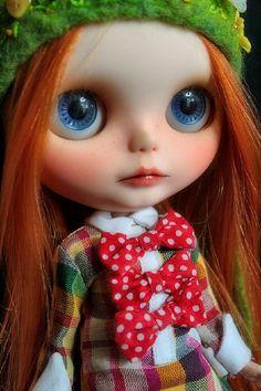 Beautiful lips. #blythe doll #blythe #doll