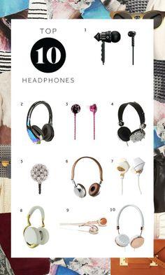 Top 10 Headphones!