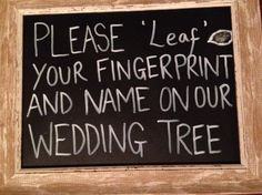 Sign for wedding finger print tree guest book Tree Wedding, Wedding Guest Book, Wedding Signs, Our Wedding, Wedding Finger, Fingerprint Tree, Guest Book Tree, Finger Print, Engagement Shoots
