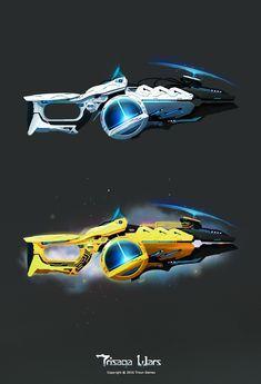 ArtStation - Lunarium Armor/Weapon set, Titus Simirica