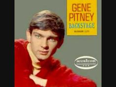 "GENE PITNEY- ""TOWN WITHOUT PITY"" Another great song for the broken teenage heart; or even if it wasn't broken.  Loved this, I might have been in 9th or 10th grade. He was from CT, btw."