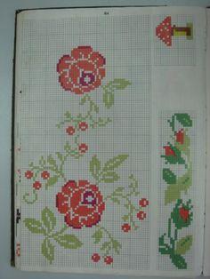 VB084 Cross Stitch Patterns, Toyota, Embroidery, Cross Stitch Embroidery, Kitchens, Animals, Border Tiles, Dots, Crosses