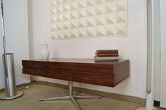 70er Jahre Sideboard Palisander Retro Vintage Loft Hifi -Möbel Musiktruhe
