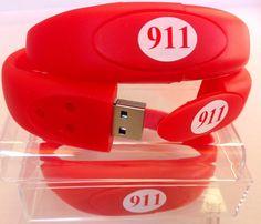 Medical Alert Emergency ID USB Flash Drive Bracelet Photo Health Car Travel USA