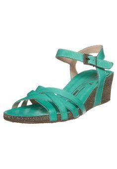 Martinelli - RITA - Sandalen met sleehak - Turquoise