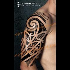 maori tattoos and their meanings Forearm Band Tattoos, All Tattoos, Sleeve Tattoos, Maori Tattoos, Polynesian Tribal Tattoos, Samoan Tattoo, Get A Tattoo, Tattoo Shop, Sketchy Tattoo