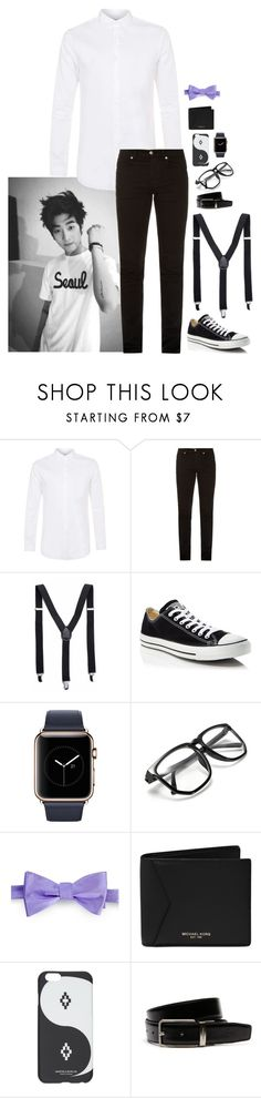 """Don't Mind"" by abbysm17es ❤ liked on Polyvore featuring Topman, McQ by Alexander McQueen, Converse, Lauren Ralph Lauren, Michael Kors, County Of Milan, Lacoste, men's fashion and menswear"