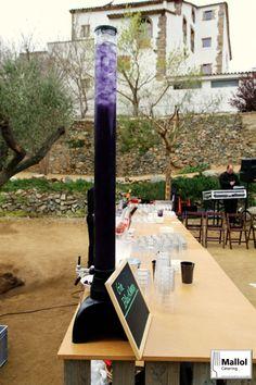 Nuestra especialidad en Gin Blackberry en los caterings de boda