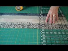 """Doodles with Noodles 2 - or playing with 1 1/2"""" strips - Quilting Tips & Techniques 053 - YouTube"""