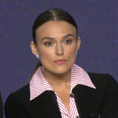 """Keira during the """"Colette"""" Press Conference at TIFF ❤️ Revere Collar, Keira Knightley, New Pins, Conference, News, Instagram, Board, Fashion, Moda"""