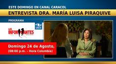 Este Domingo, entrevista Hna. María Luisa: Los Informantes Caracol TV