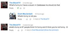 I'm in Michael Cera's circles,douchebags on Youtube.