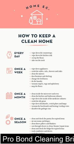 How to Keep a Clean Home #Guide