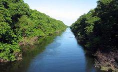 O rio atinge seus objetivos, porque aprendeu a contornar os obstáculos.