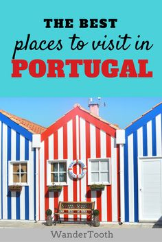 Getting ready for a trip to Portugal? Lisbon, Porto, the Algarve... there are so many things to do and see in Portugal. Here you'll find the best places to visit in Portugal. | Portugal Travel Tips - @WanderTooth