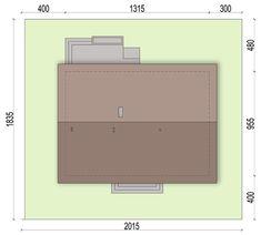 DOM.PL™ - Projekt domu ARN Mokka 2 CE - DOM RS1-78 - gotowy koszt budowy Dom, Card Case, Cabin, Cabins, Cottage, Wooden Houses