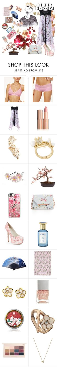 """One Dress, One Mood (Contest sponsored by Gamiss)"" by kayce35 ❤ liked on Polyvore featuring GE, Cosabella, Twigs & Honey, Shaun Leane, Nearly Natural, Casetify, Ted Baker, Alice + Olivia, Shay & Blue and H&M"