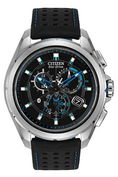Citizen Proximity AT7030-05E is an Eco-Drive powered Perpetual Calendar Chronograph which communicates with your iPhone via Bluetooth 4.0