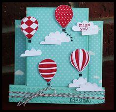 stampin up balloons