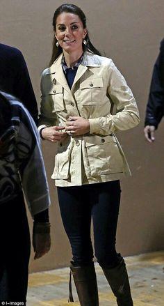 Catherine Duchess of Cambridge at Bella Bella Canada. September 26 2016