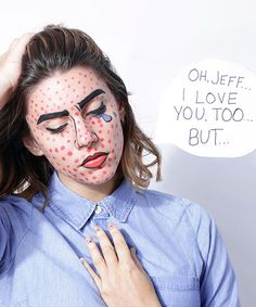Beauty Cheap Challenge: Halloween Edition #refinery29  http://www.refinery29.com/2014/10/75585/cheap-halloween-costumes-2014