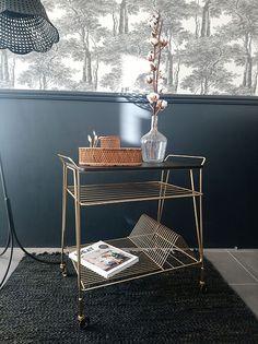 Desserte à vinyle des années 60 | leschineursdestyle Bar Cart, Furniture, Home Decor, Vintage Office, Sailor, Decoration Home, Room Decor, Home Furnishings, Home Interior Design