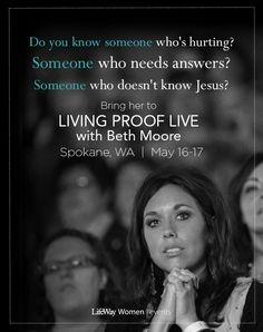 There is a seat for you at Living Proof Live!
