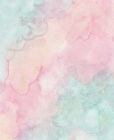 Pastel Watercolor Print, Pastel Prints, Mint Green And Pink Wall Art, Printable Watercolor, Abstract Print, Instant Download, Pastel Art