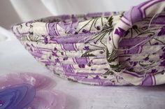Small Ring Bowl Lavender Jewelry Holder by WexfordTreasures