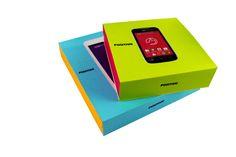 CriativeBox / Caixa para celular POSITIVO / #criativebox #embalagensespeciais #caixa #caixaparacelular #celular #positivo #caixarigida #caixapersonalizada