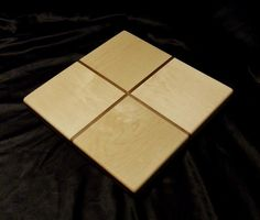 Gift Wrap Maple and Walnut Cutting Board by DPcustoms on Etsy