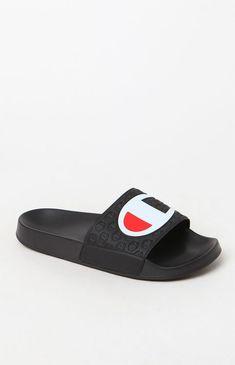 Champion for Women. Champion ShoesChampion LogoPacsunMen SlidesLatest Shoe  TrendsSlide SandalsCleatsBlack SandalsJordans 1a2f62b40