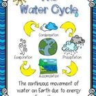 This freebie pack includes...    Water Cycle Poster  Water Cycle Song (to the tune of Old McDonald) - color and B  Water Cycle Cut & Paste Di...