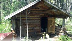 Trapper's Cabin, near Iverson Lake, Alberta.