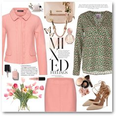 Green and blush by sundango on Polyvore