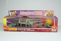 Matchbox Adventure 2000 Set, K-2005 Command Force Planet Expedition, Mint Boxed #Matchbox