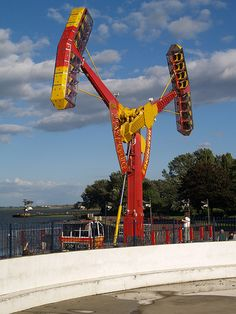 Fun Fair ride on The Strand Gillingham [shared]