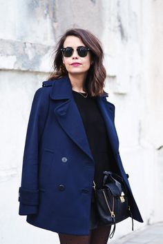Mango_Outfit-Blue_Coat-LEather_Skirt-Plumetti_Tights-Outfit-Street_Style-8
