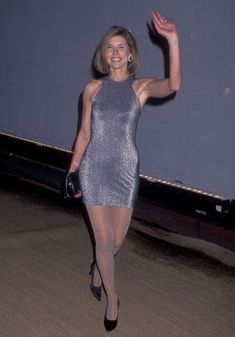 """Actress Christine Baranski attends the First Annual """"Tribute to Style"""" Celebration to Benefit the Permanet Charities of the Entertainment Industry on September 1996 at Rodeo Drive in Beverly. Pantyhose Outfits, In Pantyhose, Nylons, Beautiful Old Woman, Gorgeous Women, Sexy Outfits, Stylish Older Women, Famous Girls, Sexy Stockings"""
