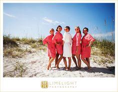 #limelight #limelightphotography #weddingday #florida #beach #clearwater #bridesmaids #sand #ocean