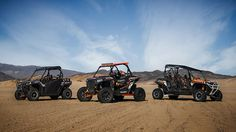 2014 Polaris RZR Family