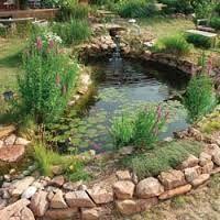 Resultado de imagen para cascadas en jardines pequeños