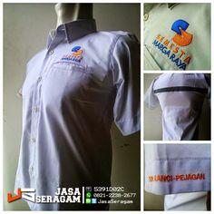 Jasa Pembuatan Seragam Kantor Tangerang Selatan BBM - 5391D02C | WA : 0821-2238-2677 | LINE : JASASERAGAM