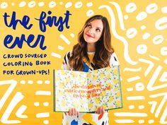 Brit + Co is making an adult coloring book and we want YOUR designs!