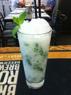 Coco Mojo Rum, coconut, lime, mint, organic sugar cane, crushy