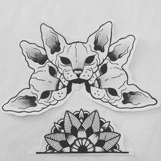 #cattattoo #mandalatattoo #mandala #mandalatattooflash #tattoo #tattooflash #tattoodesign #darktattoo #blacktattoo #darkcat #ink #inked #cat #tattooapprentice #tatouagechat #tatouage #traditionaltattooflash #traditionaltattoo #draw #drawing