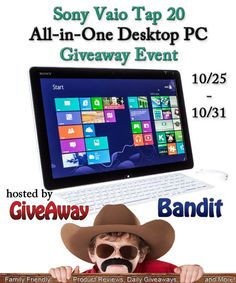 Sony Vaio AIO Computer Giveaway Event